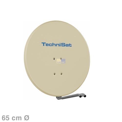 Klick zeigt Details von SAT-Antenne 65cm beige SATMAN650Plus