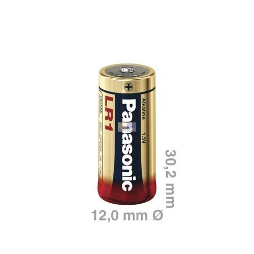 Klick zeigt Details von Batterie/Knopfzelle Lady LR1 Panasonic