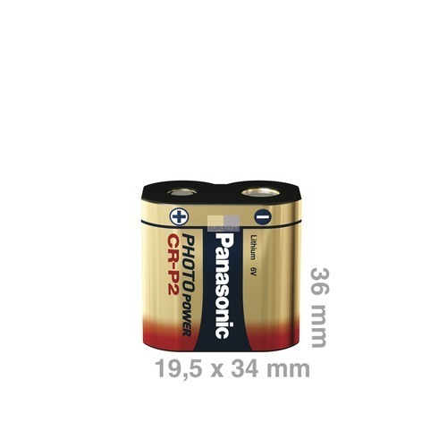Klick zeigt Details von Batterie CRP2 Panasonic