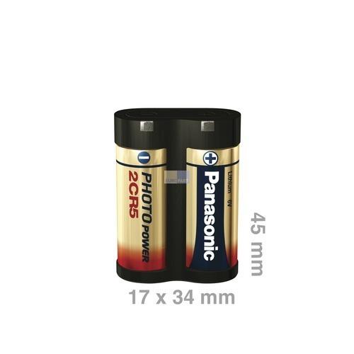 Klick zeigt Details von Batterie 2CR5EP Foto