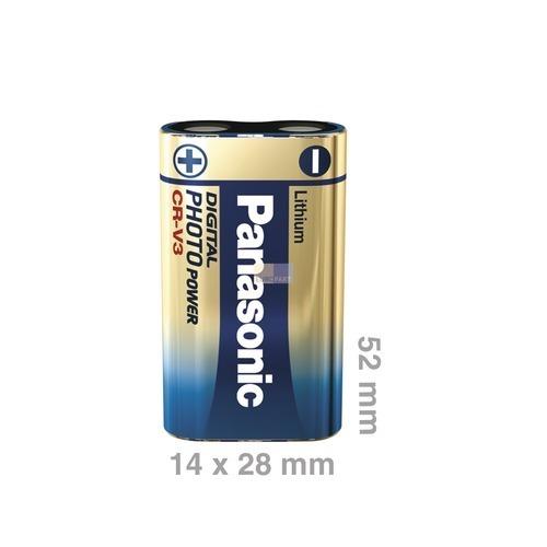 Klick zeigt Details von Batterie CRV3