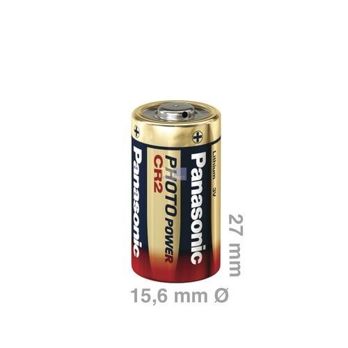 Klick zeigt Details von Batterie CR2 Panasonic