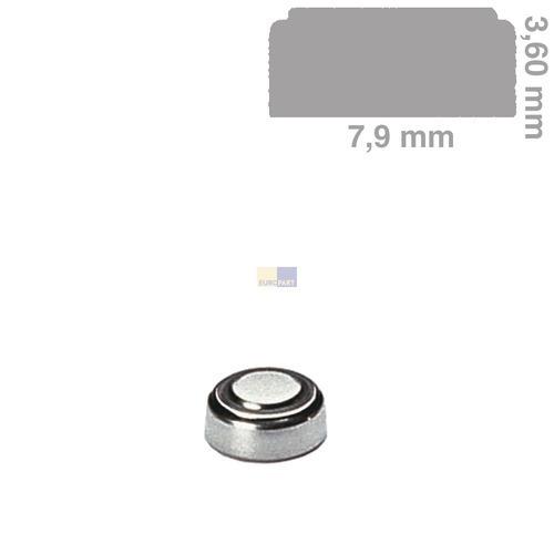 Klick zeigt Details von Knopfzelle SR41SW für Uhren