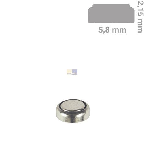 Klick zeigt Details von Knopfzelle SR521SW für Uhren