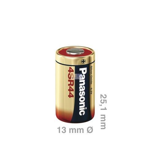 Klick zeigt Details von Batterie/Knopfzelle 4SR44 Panasonic