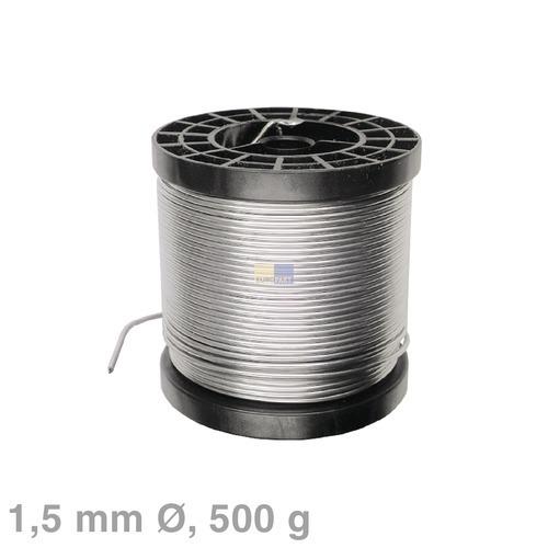 Klick zeigt Details von Lötdraht 1,5mmØ, 500g Rolle, bleihaltig