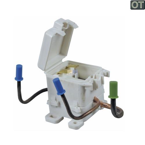 Klick zeigt Details von Magnetventil gebogen KG  LIEBHERR 9503100