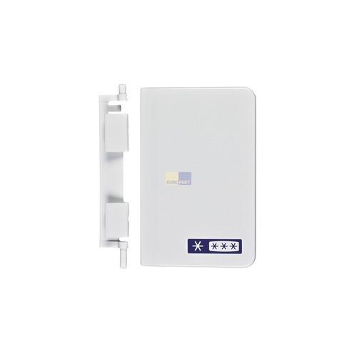 Klick zeigt Details von Türgriff LIEBHERR 9590222 mit Feder für Gefrierfach Innenraumtüre Kühlschrank