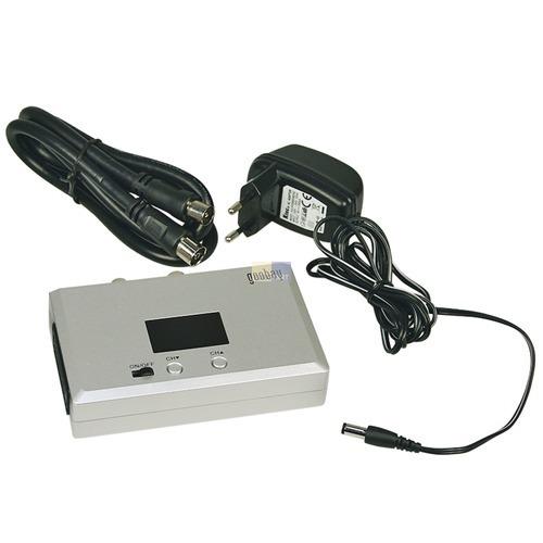 Klick zeigt Details von Breitband Audio-/Video-HF-Modulator mit LED