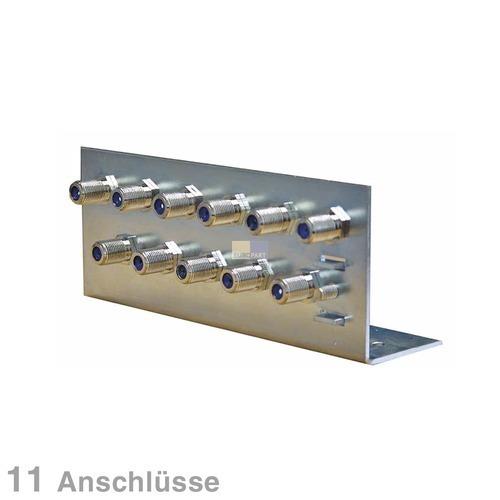 Klick zeigt Details von Erdungswinkel für Koaxkabel 11-fach