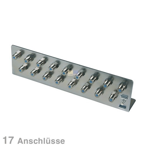 Klick zeigt Details von Erdungswinkel für Koaxkabel 17-fach