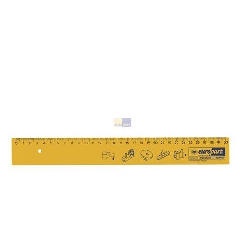 Klick zeigt Details von Lineal 30cm lang Europart