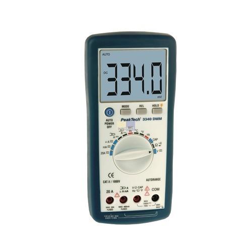 Klick zeigt Details von Multimeter Digitalmultimeter PT3340