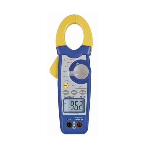 Klick zeigt Details von Zangenmessgerät AC PT1610 PeakTech