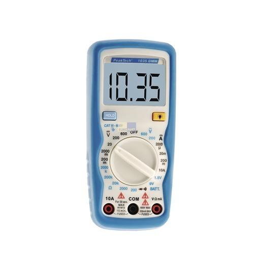 Klick zeigt Details von Multimeter Digitalmultimeter PT1035
