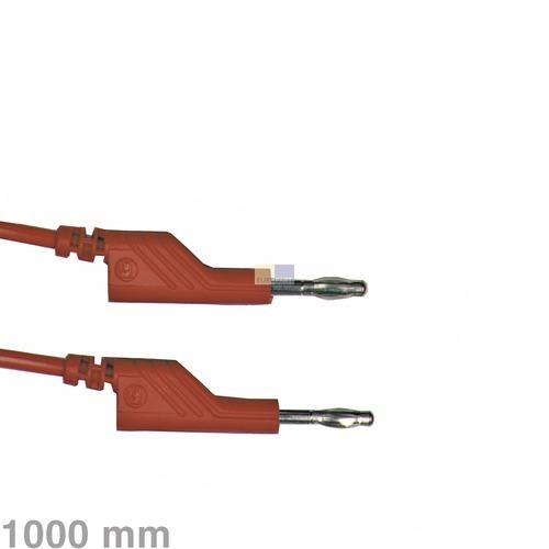 Klick zeigt Details von Messleitung ML100 / 1 rot Hirschmann