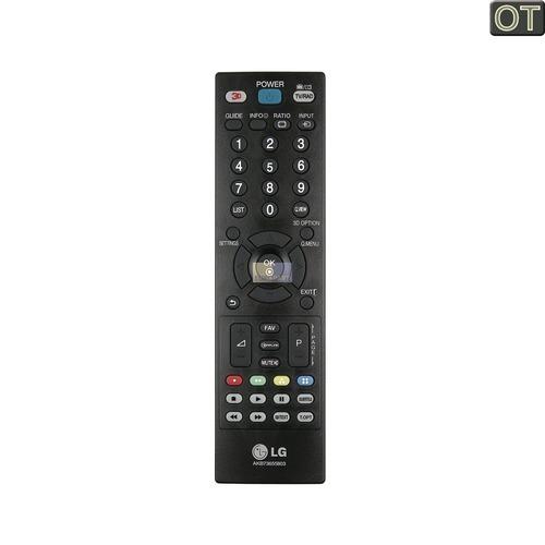 Klick zeigt Details von Fernbedienung LG TV, mit 3D-Taste