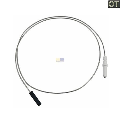 Klick zeigt Details von Zündkerze mit Kabel, Gesamtlänge 760mm