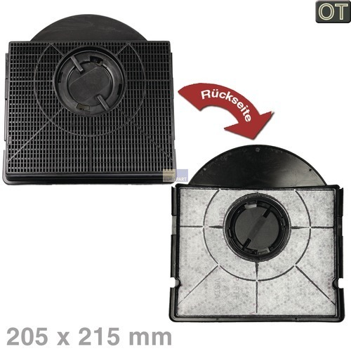 Klick zeigt Details von Kohlefilter