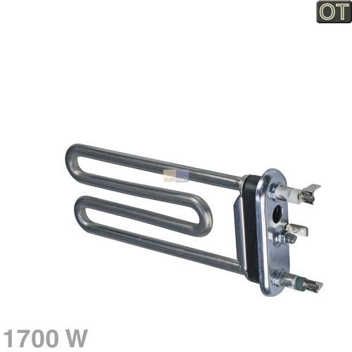 Klick zeigt Details von Heizelement 1700W 230V Indesit C00094715 Temperaturbegrenzer Waschmaschine
