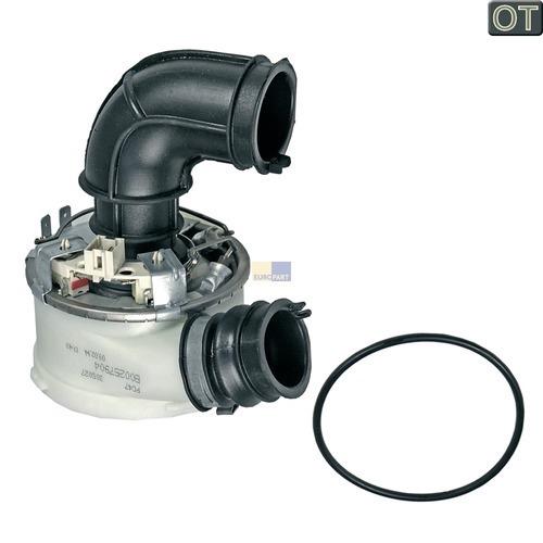 Klick zeigt Details von Heizelement 1960/1800W 240V DE-System (Umwälzpumpenkopf) Hotpoint C00257904 Original