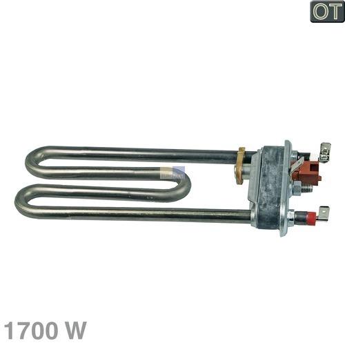 Klick zeigt Details von Heizelement 1700W 230V Indesit Whirlpool 482000031159 Heizung für Waschmaschine