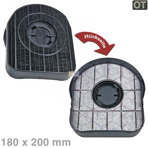 Klick zeigt Details von Kohlefilter 200x180mm Indesit, OT!
