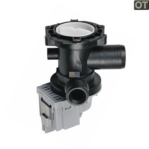 Klick zeigt Details von Ablaufpumpe mit Pumpenstutzen und Filter, OT!