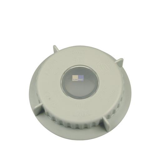 Klick zeigt Details von Deckel für Salzbehälter Siemens Bosch 00056806 Salzverschlusskappe Spülmaschine