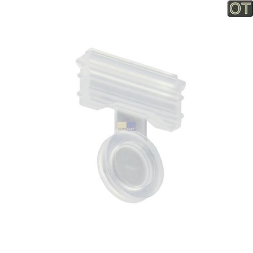 Klick zeigt Details von Geschirrspüler Spülmaschine Rückschlagventil für Sammeltopf Bosch Siemens 165262