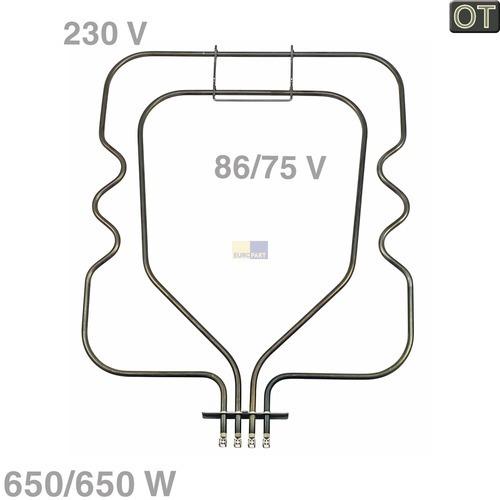 Heizelement Unterhitze 1300W 230V