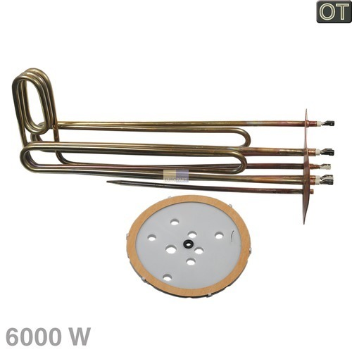 Klick zeigt Details von Heizelement Tauchheizelement SIEMENS 00243021 Original 6000W 230V für Heißwassergerät