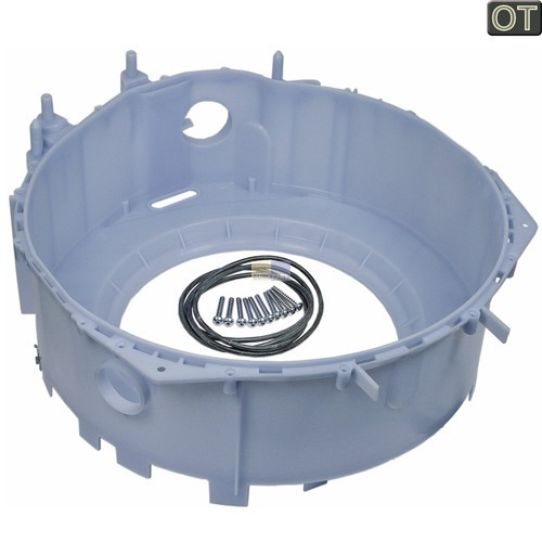 Klick zeigt Details von Bottich Laugenbehälterhälfte Bsoch Siemens 00248124 für Waschmaschinen