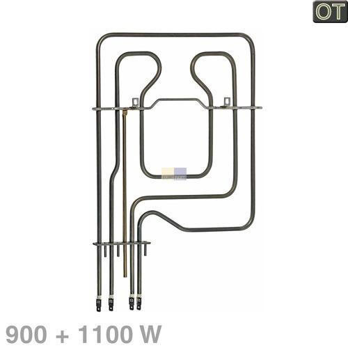 Klick zeigt Details von Oberhitze 900/1100W 220V  BSH 00278371