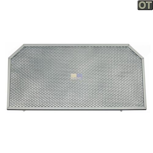 Klick zeigt Details von Fettfilter Trapezform Metall 510x255mm, hinten