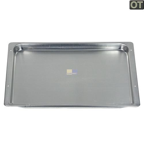Klick zeigt Details von Backblech 450x370mm 21mm hoch Aluminium, OT!