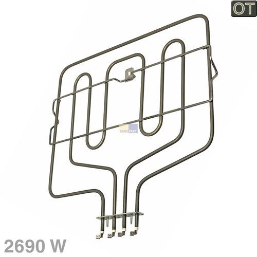 Klick zeigt Details von Oberhitze/Grill 2690W 230V BO  BSH 00296365
