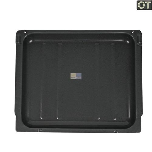 Klick zeigt Details von Backblech emailliert 445x370x41mm Bosch Siemens 00435088 Pfanne für Backofen