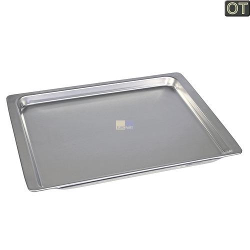 Klick zeigt Details von Backblech Aluminium 25mm hoch  465x375mm, BSH 00438155