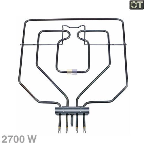 Klick zeigt Details von Grillheizkörper Klappbar, 2700W, 230V  zweikreisig, BSH 00438196