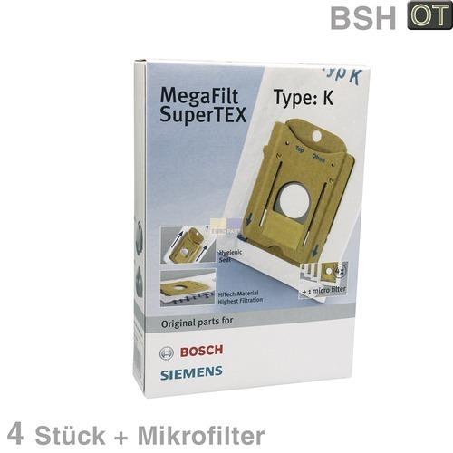 Klick zeigt Details von Filterbeutel BOSCH Typ K BOSCH 00468265 4 Stk