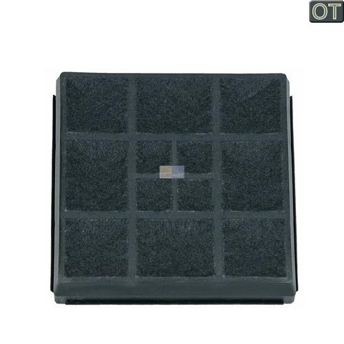 Klick zeigt Details von Filter Abluftfilter Filterkassette Bosch Siemens 00483781 Aktivkohlefilter für Staubsauger