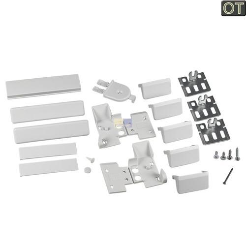 Klick zeigt Details von Befestigungssatz Flachscharnier  KG, BSH 00491368