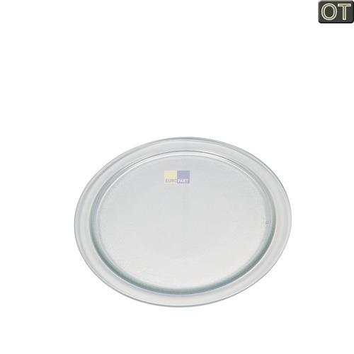 Klick zeigt Details von Abdeckung Glasabdeckung 194mm Ø Bosch Siemens 00495047 für Mikrowellengerät
