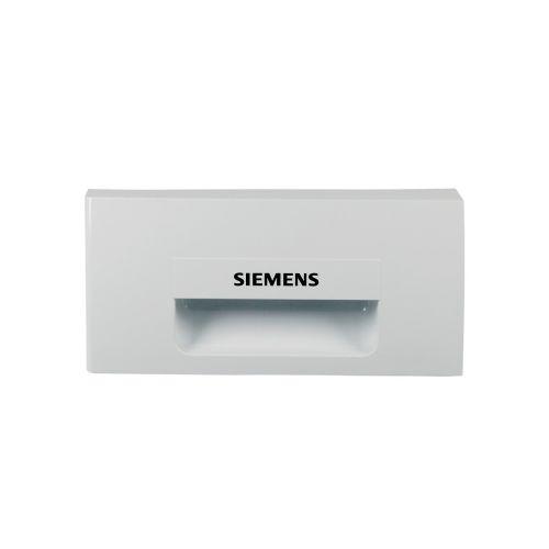 Klick zeigt Details von Griffplatte für Wasserbehälter SIEMENS 00497834 Original für Trockner