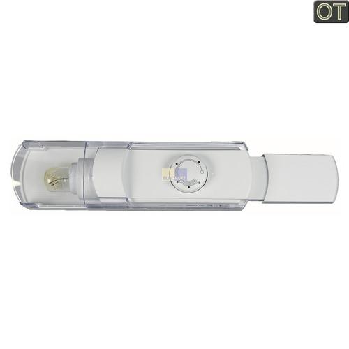 Klick zeigt Details von Bedieneinheit BOSCH 00499554 Original mit Thermostat Lampe etc. für Kühlschrank