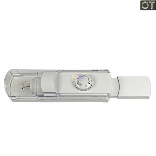 Klick zeigt Details von Bedieneinheit BOSCH 00499557 Original mit Thermostat Lampe etc. für Kühlschrank