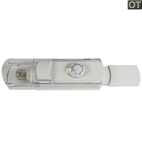 Klick zeigt Details von Bedieneinheit BOSCH 00499730 Original mit Thermostat Lampe etc. für Kühlschrank