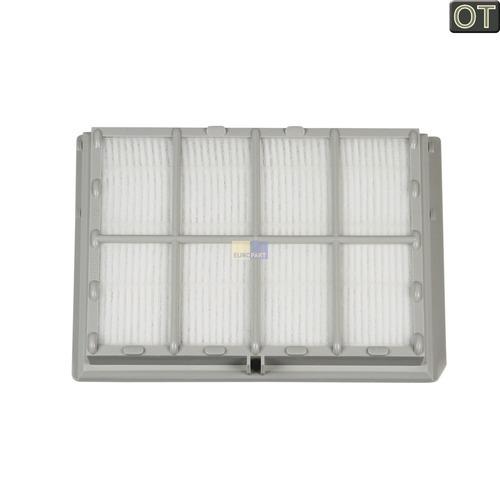 Klick zeigt Details von Filter Abluftfilter Kassette BOSCH 00578732 F2G2 BBZ151HF Original für Staubsauger