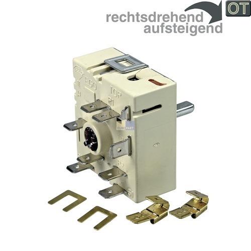 Klick zeigt Details von Kochplattenschalter EGO 50.55021.100 Zweikreis, OT! Umbausatz